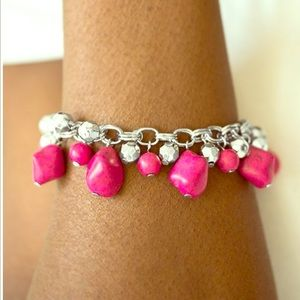 Practical Paleo - Pink   Bracelet